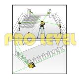 Het elektronische Automatische Nivellerende Niveau van de Laser van de Laser van de Hoge Precisie Groene Roterende (sre-203G)