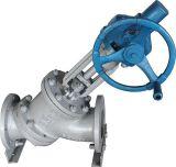 Y-Tipo manual válvula global do funcionamento de Wcb para a descarga média Js545y da pasta