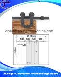 Modèle moderne du matériel Bdh-04 de porte de grange en bois solide