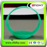 Bracelete Impermeável do Wristband de RFID para a Gerência da Prisão