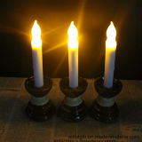 Flammenloses Wax Tealight Holder Candlesticks mit Battery Candle