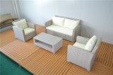 Conjuntos de mimbre del sofá del patio de la rota al aire libre del PE para la sala de estar
