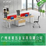 Populärer moderner Art-Büro-Zelle-Arbeitsplatz mit beweglichem Untersatz