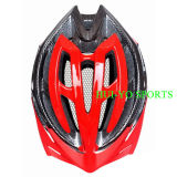 Casque de vélo de Clignoter-Lumières, casque professionnel d'équitation, casque de DEL Inmold