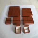 Natural Colección duro de madera caja del paquete de Jewellry Box Set