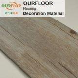 Plancher de PVC des carrelages de vinyle de pistes d'étage de planches de plancher de vinyle WPC