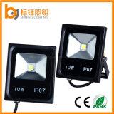 Свет потока IP67 ультратонкое AC85-265V тонкого напольного освещения водоустойчивый работая 10W прожектор светильника СИД