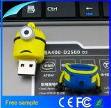 Оптовый привод 2GB вспышки USB миньонов шаржа подарка детей