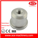 CNC maschinelle Bearbeitung des Zylinder-Enden-Kohlenstoffstahls #45