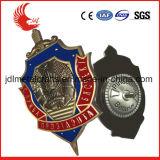 Alta qualità su ordinazione e distintivo poco costoso dello sceriffo del metallo di prezzi