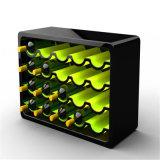 Botella de vino de acrílico Display, Titular de acrílico taza del vino