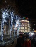 屋外の防水LEDのクリスマスのカーテンライト