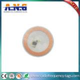 el metal anti impermeable NFC de 30m m marca el símbolo con etiqueta Ntag213