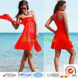 Юбка пляжа шикарных женщин Superswim/сексуальная юбка пляжа