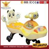 Пурпуровая розовая желтая езда ребенка автомобилей качания голубого младенца на автомобилях/игрушках малышей