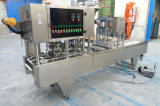 Linearer Typ manuelle Plastikcup-Dichtungs-Maschine