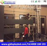 Farbenreiches Bildschirmanzeige-Panel LED-P5 für permanentes örtlich festgelegtes/Miete