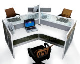 120 Degrees Workstation Office Furniture with Partiton Wall (HF-YZ031)