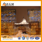 De Modellen van de architectuur/de Mooie Modellen van de Commerciële Modellen van de Bouw/de Modellen van het Huis/het Model van de Bouw van het Project/Al Soort Tekens