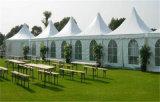 صنع وفقا لطلب الزّبون [بفك] سقف ألومنيوم إطار [بغدا] خيمة لأنّ [ودّينغ برتي]