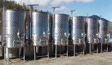 tanque de armazenamento móvel sanitário do aço 500L inoxidável (ACE-ZNLG-F9)