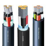 Câble d'alimentation de cuivre de basse tension de faisceau/câble marin
