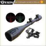 Army Tactical Militar Outdoor PRO 6-24X50aoe R & G Âmbito Iluminado Mil-DOT Rifle