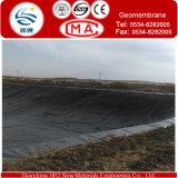 HDPE Geomembrane para el trazador de líneas de la charca de agua de pescados con 0.15-3.0m m