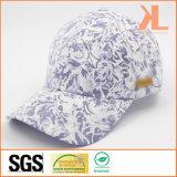 Полиэфир качества & бейсбольная кепка панели шнурка 6 хлопка