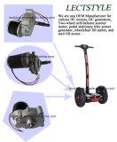 moteur de scooter d'Individu-Équilibre de Deux-Roue de C.C de 24V 250W