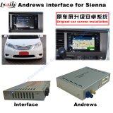 Interfaccia Android di percorso dell'automobile per percorso di tocco di aggiornamento delle terre di Siena 2014-2016Toyota, WiFi, BT, Mirrorlink, HD 1080P, programma di Google, memoria del gioco, voce