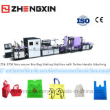 2016 Best Selling Non-Woven Box Bag Making Machine Zxl-E700