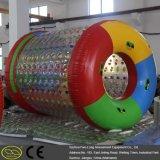 Rolo inflável da água do parque de diversões material do PVC TPU