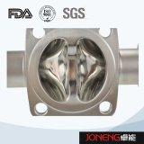 Válvula de diafragma neumática de la categoría alimenticia del acero inoxidable (JN-DV1001)
