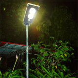 4W All in One Solar LED Jardim Luz Integrada Poste