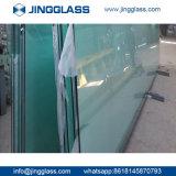 Da segurança de edifício da construção porta Tempered do indicador de vidro de folha do espaço livre horizontalmente