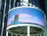 Visualización de LED fija al aire libre de la instalación