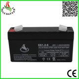 De hete AGM van de Verkoop 6V 1.2ah Navulbare Verzegelde Zure Batterij van het Lood