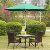 Paraguas al aire libre a prueba de viento expresado ajustable del parasol del jardín de Sun