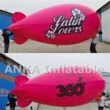 Progettare il piccolo dirigibile per il cliente gonfiabile commerciale dell'elio per fare pubblicità