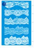 Tricot Lace for Clothing / Vestuário / Shoes / Bag / Case 3251 (Largura: 7cm)