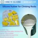 Steigende Einfluss-Form, die Silikon-Gummi bildet