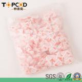 gel di silice disseccante 1g con l'imballaggio del sacchetto di plastica