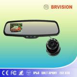 4.3 de 2.4GHz Digitas de carro polegadas de monitor do espelho & câmera larga do ângulo