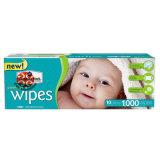 Chiffons humides de course de bébé non-tissé extérieur de l'emballage 1PC