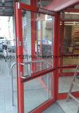 Porta a battenti automatica di alluminio di Veze per uso commerciale