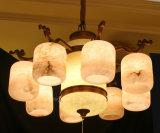 Phine europäische Dekoration-Beleuchtung mit spanischer hängender Marmorierunglampe