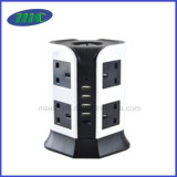 het UK Standard Socket met het UK Outlets, Havens USB