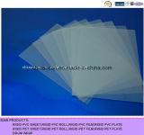 400 Hoja Mircon transparente mate realzado del PVC para la impresión