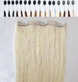 Drawn dobro 220g Remy Human Hair Clip em Hair